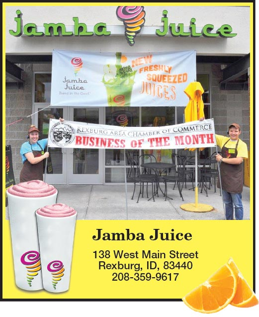 Business of the Month - Jamba Juice