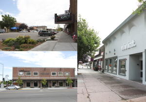 local businesses, shop local first, rexburg area, main street