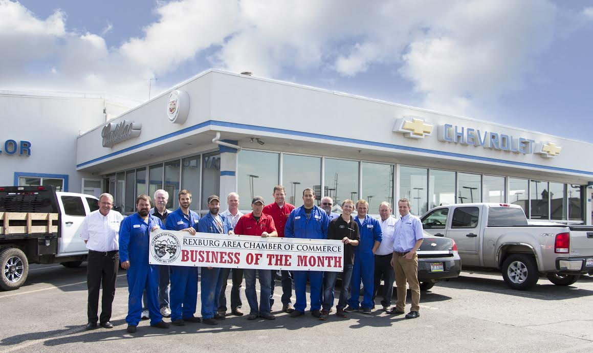 Taylor Chevrolet, Rexburg Idaho, Chamber, Business of the Month